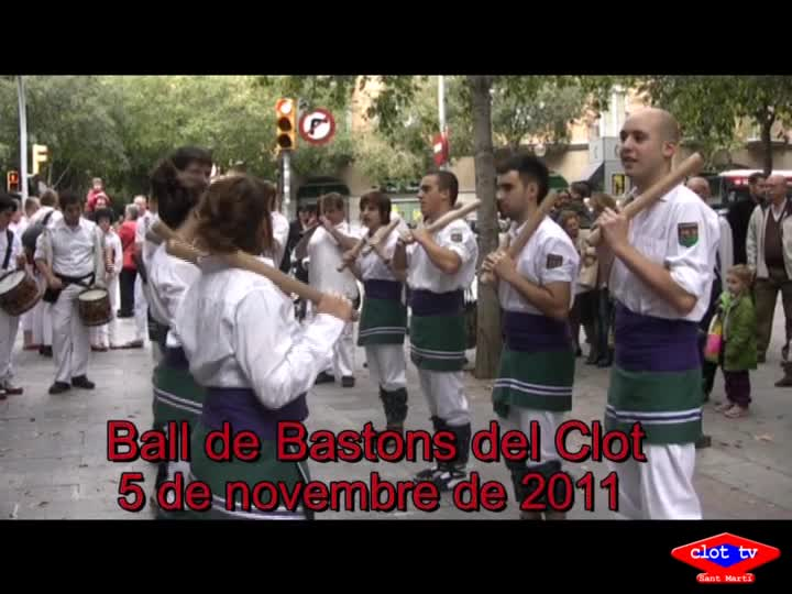 Festa Major del Clot-Camp de l'Arpa, Ball de Bastons
