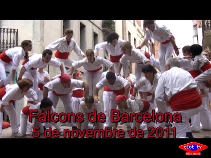 Festa Major del Clot-Camp de l'Arpa, Falcons de Barcelona