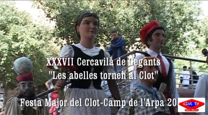 XXXVII Cercavila de Gegants, Festa Major Clot-Camp de l'Arpa 2013